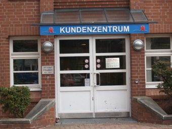 Das Kundenzentrum ist geschlossen - bis auf einen Notdienst