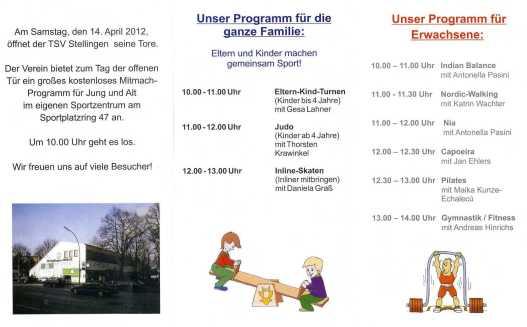 TSV-Stellingen Tag der offenen Tür 2012