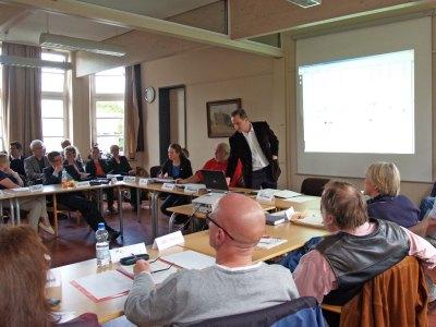 A7 Ausschusssitzung am 23.6.2012 im Stellinger Rathaus