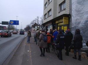 Fußweg an der Kieler Straße