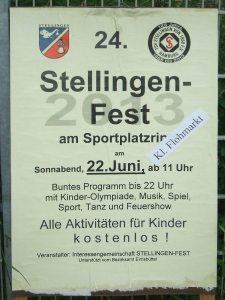 24. Stellingen Fest 22.6.2013