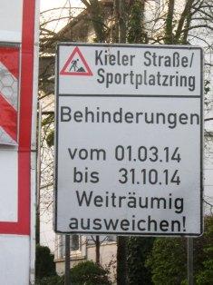 1.3.2014 Kieler Str. und Sportplatzring