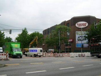 Einmündung der Elbgaustraße