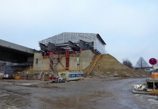 Neue Langenfelder Brücke von Norden