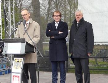 Baubeginn Stellinger Deckel, Ansprache Dirk Brandenburger